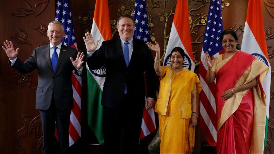 قرارداد امنیتی-نظامی هند و آمریکا امضاء شد؛ ادامه مذاکرات دو طرف در مورد تحریم نفت ایران