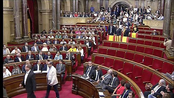 Un año del choque de trenes entre Cataluña y Madrid