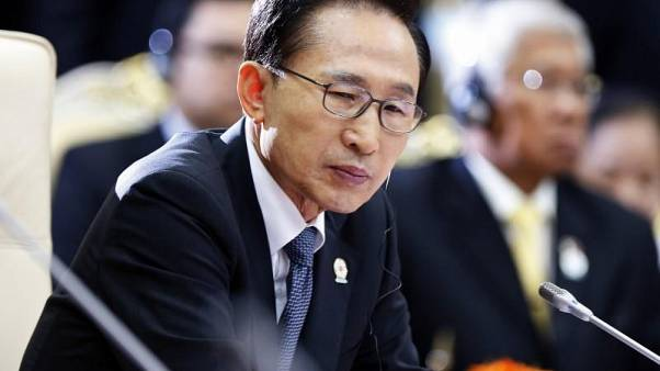 Güney Kore eski cumhurbaşkanına yolsuzluktan 20 yıl hapis istemi