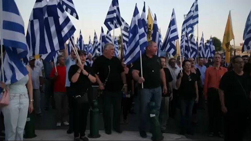 Mecsetépítés ellen tüntettek Athénban