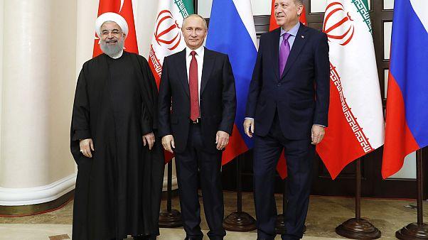 """قمّة طهران """"المصيرية"""" : هل ينجح الثلاثي الروسي والتركي والإيراني بتفادي المذبحة في إدلب؟"""