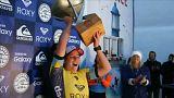 Мировая лига сёрфинга - за равенство призовых