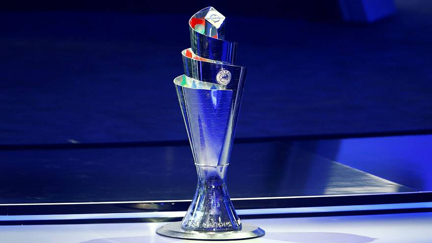 Image result for uefa nations league trophy