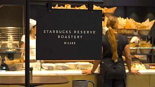 Starbucks s'implante en Italie