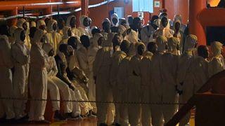 اسپانیا؛ پنج مهاجر در آبهای مدیترانه جان باختند