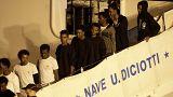 Megtaláltak 17-et a Diciottin Európába érkezett, majd eltűnt migránsok közül