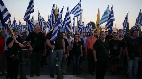 Grecia, Alba Dorata manifesta contro la costruzione di una moschea