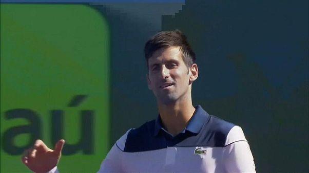 ABD Açık'ta tek erkeklerde Novak Djokovic yarı finalde