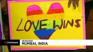جشن قانونی شدن همجنسگرایی در هند با رقص و شکلات و اشک
