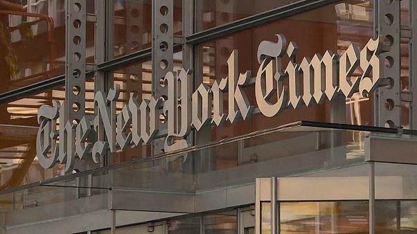 """كبار مساعدي ترامب يتنصلون من مقال """"نيويورك تايمز"""""""