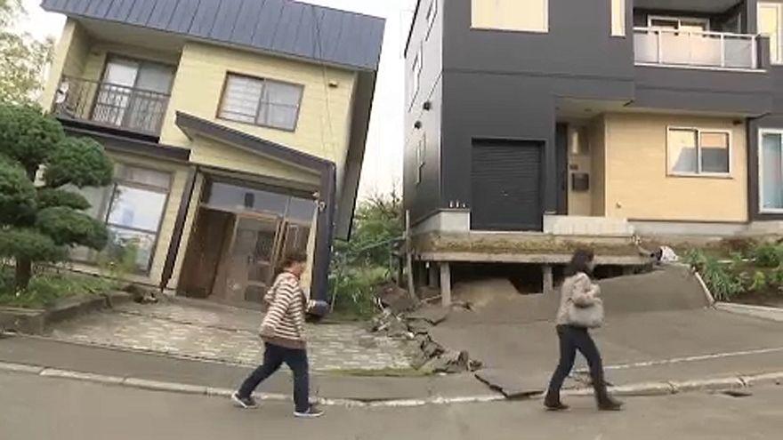 Hokkaidó a földrengés után