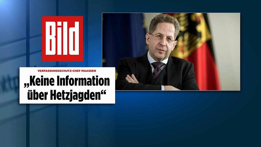 """Verfassungschutzpräsident Maaßen: """"Keine Information über Hetzjagden"""" in Chemnitz"""