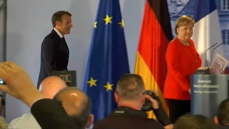 Under-pressure French and German leaders meeting in Marseille