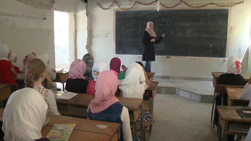 Szíria: Tanévkezdés háború idején
