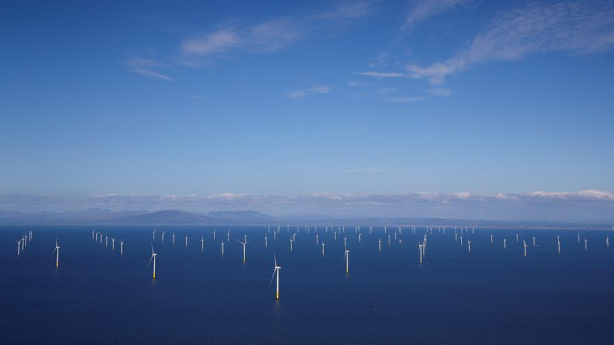 Watch: Britain now hosts world's largest offshore wind farm