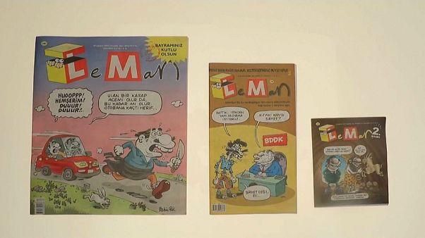 """LeMan'dan zamlanan kağıt fiyatlarına """"küçük boyutlu"""" protesto"""