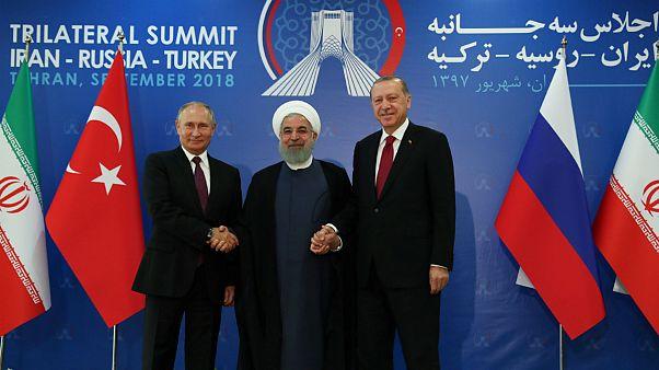 نبرد ادلب و جنگ داخلی سوریه؛ نشست روحانی، پوتین و اردوغان در تهران