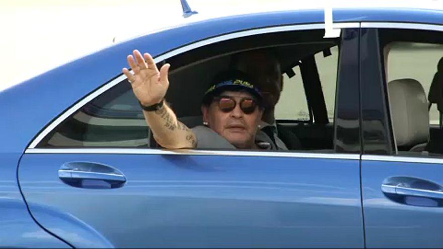 Марадона переезжает в Мексику