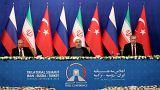 Altı başlıkta Tahran Zirvesi