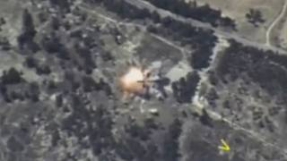 ضربات جوية وإحتجاجات عارمة في إدلب تزامنا مع قمة طهران الثلاثية