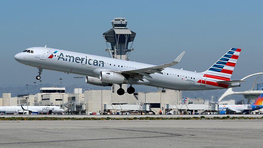 ABD: Uçakta 12 kişi grip oldu, 250 yolcu sağlık kontrolünden geçirildi
