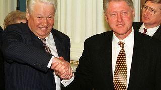 Ельцин Клинтону о Путине