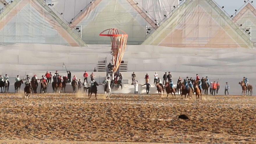 Kirguistán celebra los pintorescos Juegos Nómadas