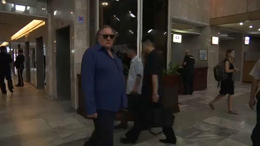 Gerard Depardieu, en Corea del Norte