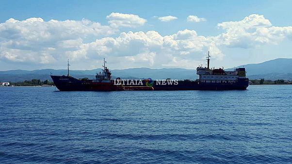 Ιστιαία: Αποκολλήθηκε το «Αρσλάνμπεϊ»