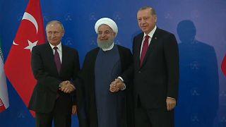 Teheran-Gipfel: Unterstützung für Syrien