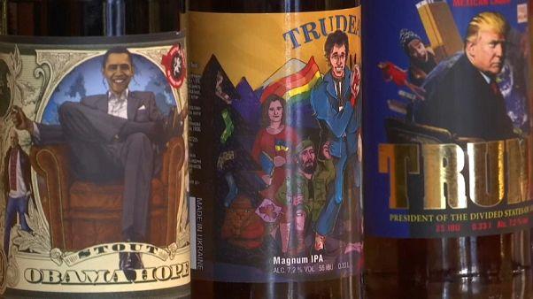 هل جرّبت شرب بيرة بوتين أو ترامب أو حتى ميركل؟