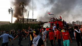 Erőszakos tüntetések Irakban