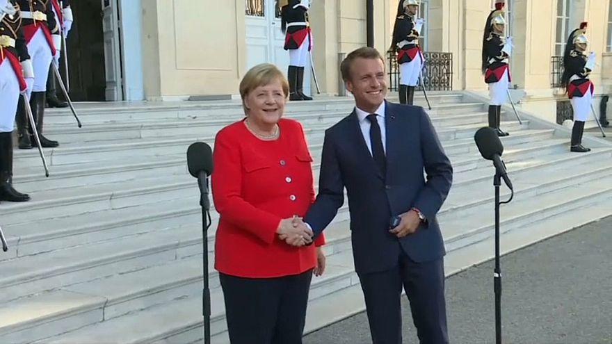 Merkel trifft Macron in Marseille