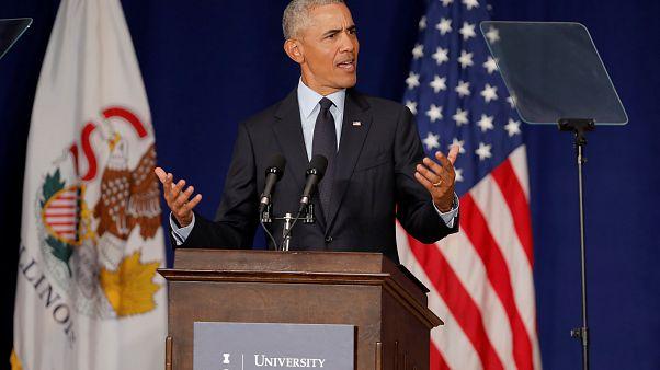 Обама - Трамп: атакует экс-президент