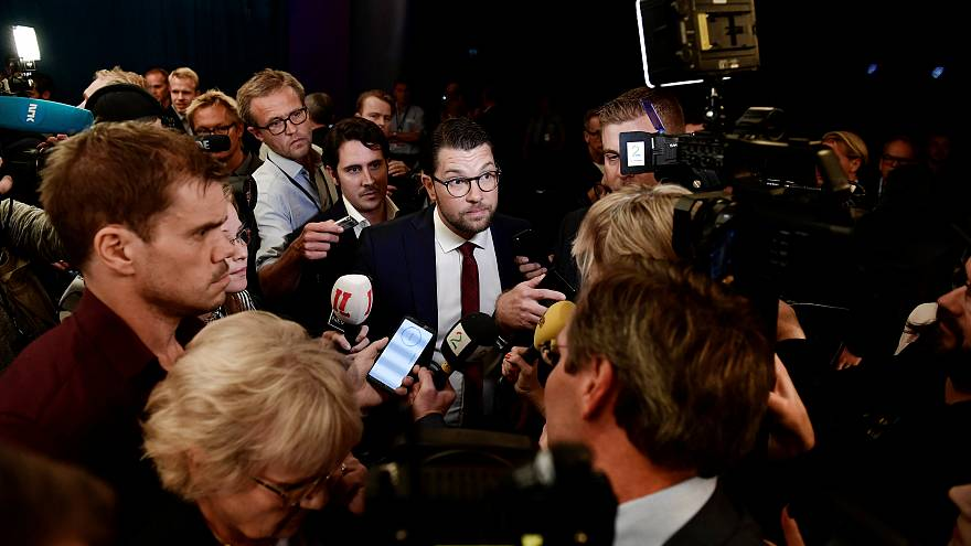 Sweden prepares to vote in a highly charged general election