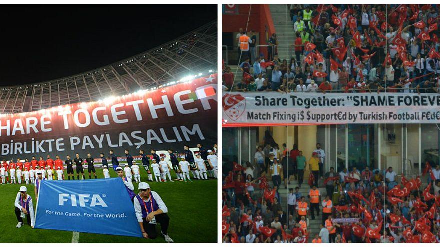 """'Birlikte paylaşalım' diyen TFF'ye Trabzon'da: """"Paylaşalım, daima utanın"""""""