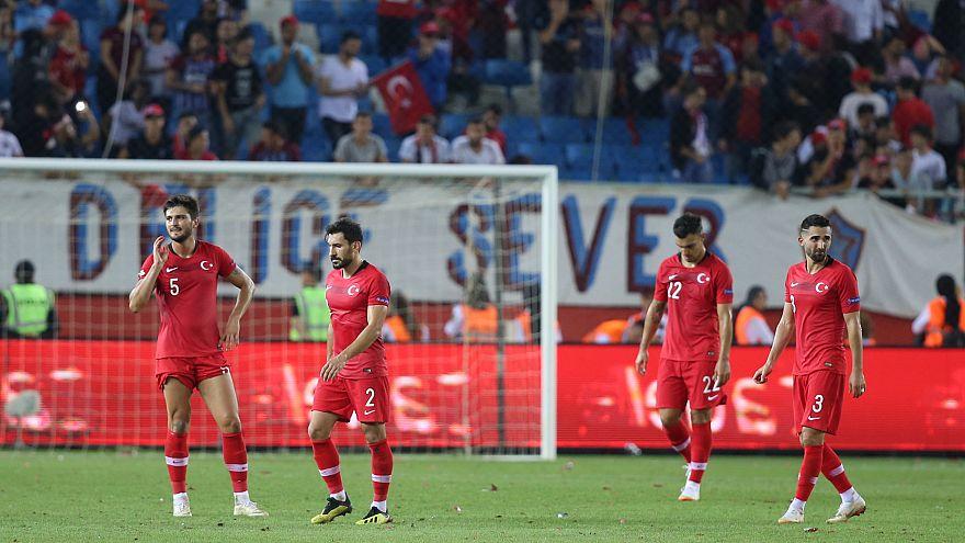 Türkiye Uluslar Ligi'ne yenilgiyle başladı