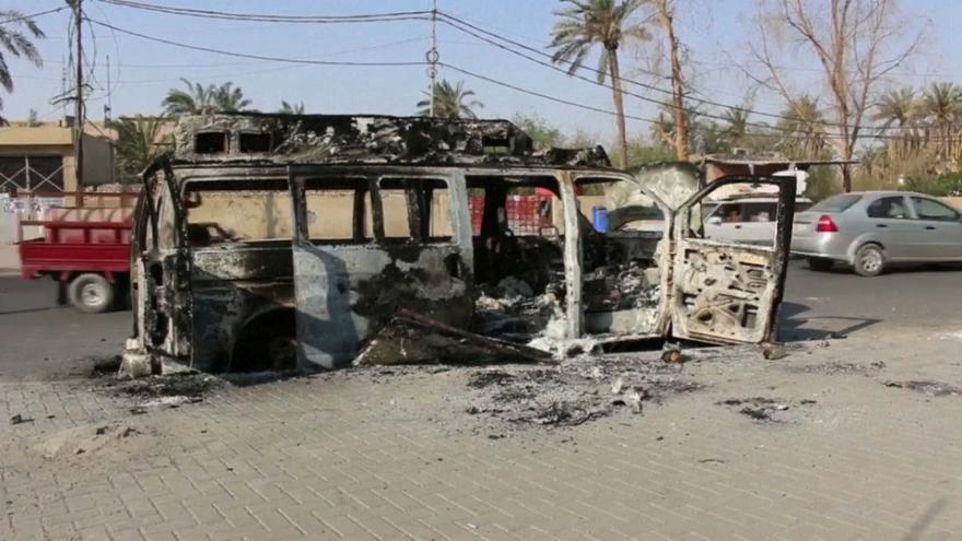 Νύχτα βίας στη Βασόρα