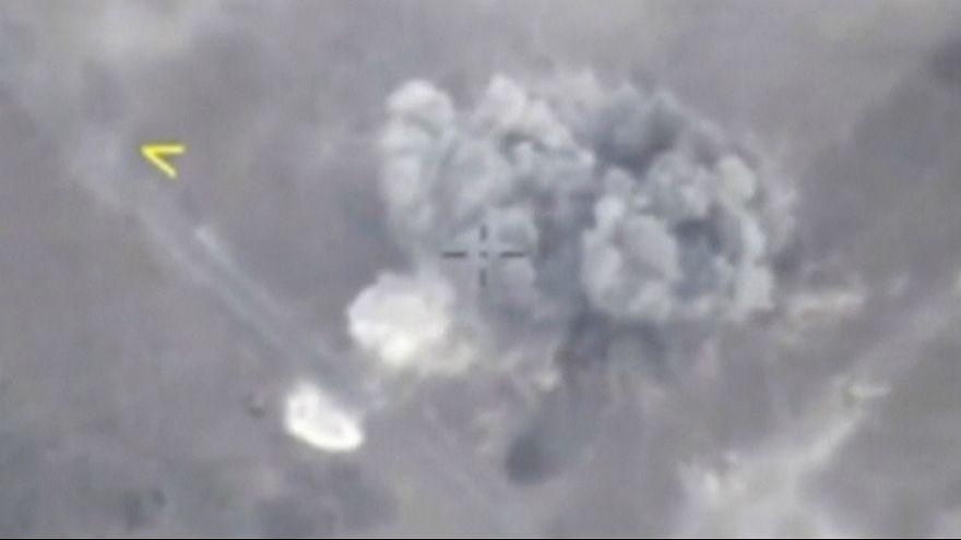 ادلب زیر شدیدترین حملات هوایی یکماه گذشته روسیه