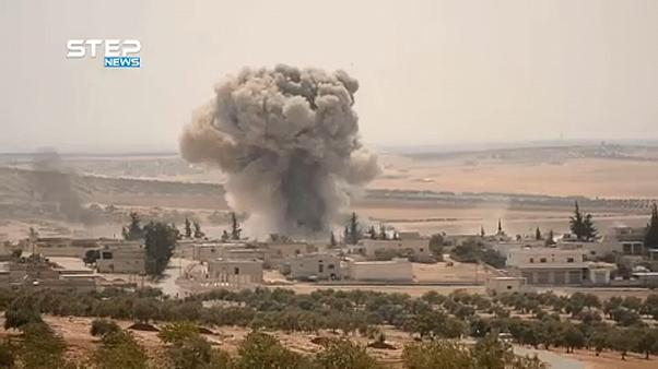 Bombardements russes sur Idleb
