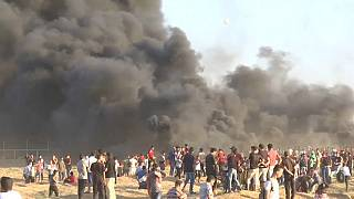 نوارغزه؛ کشته شدن یک نوجوان فلسطینی درجریان تظاهرات