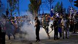 اشتباكات عنيفة بين الشرطة ومتظاهرين قوميين بمدينة سالونيكى اليونانية