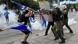 Διαδηλώσεις ΔΕΘ: Επεισόδια στη Θεσσαλονίκη (βίντεο)