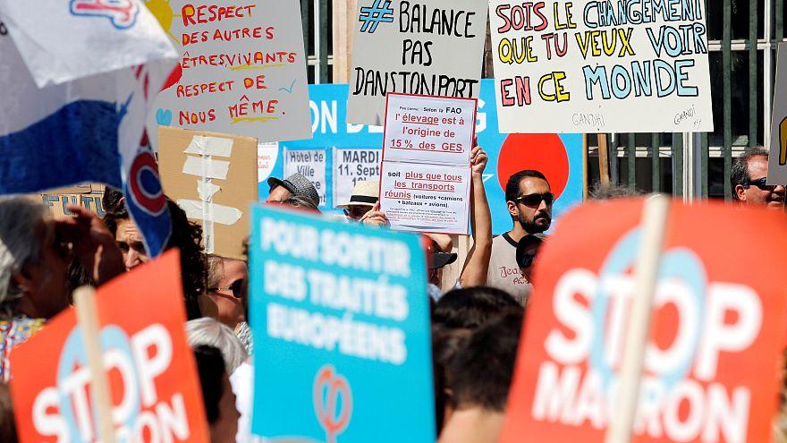 مظاهرات حاشدة في فرنسا للمطالبة بحماية البيئة