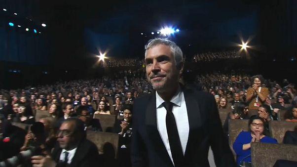 Il regista messicano Alfonso Cuaron