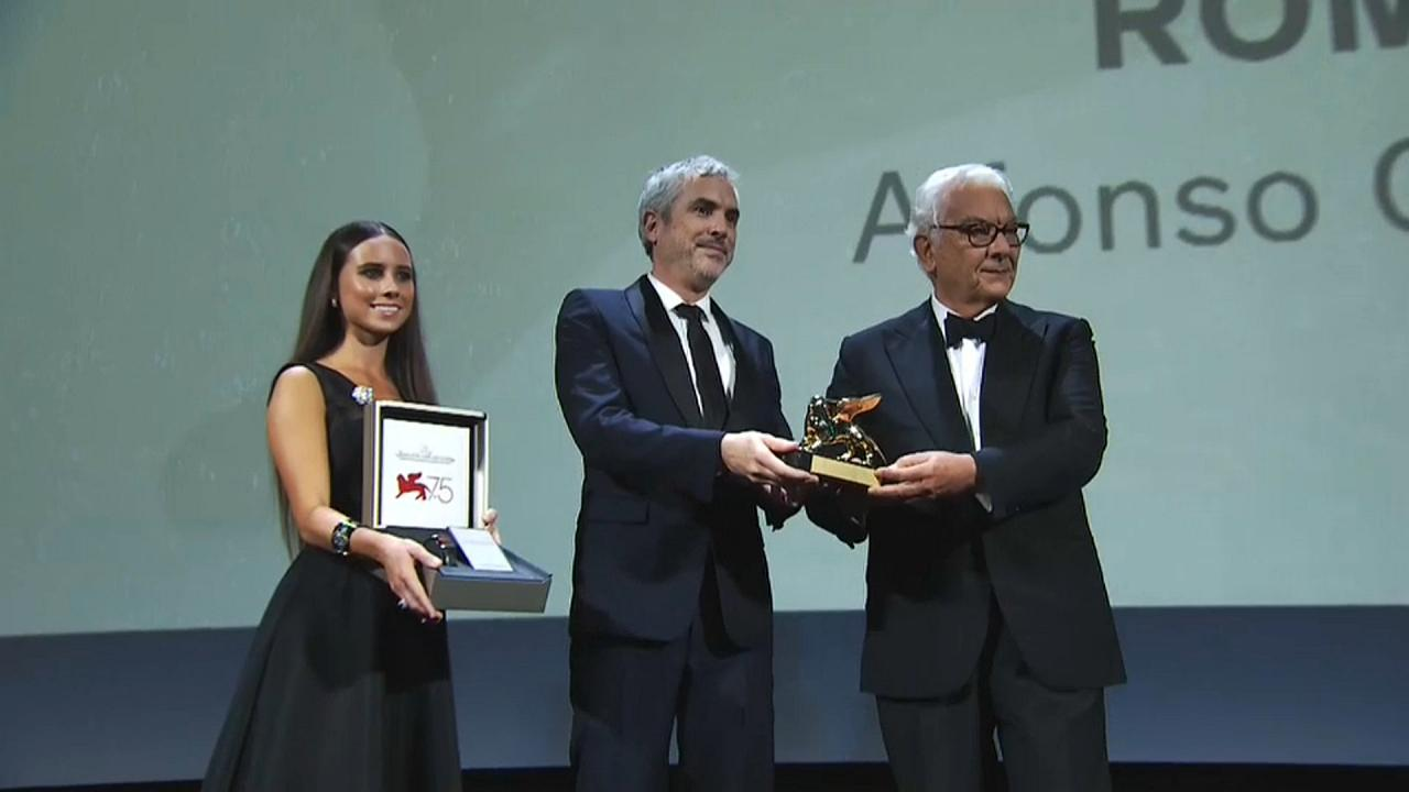 """""""Roma"""" de Alfonso Cuarón vence Leão de Ouro em Veneza"""