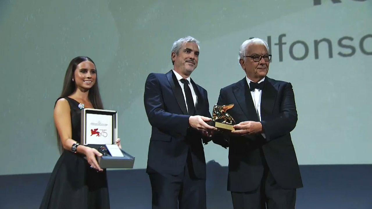 """""""Roma"""", de Alfonso Cuarón, León de Oro de la Mostra de Venecia"""