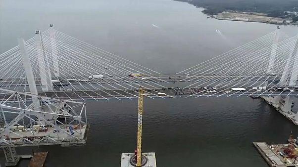 New York: Neue Brücke eingeweiht