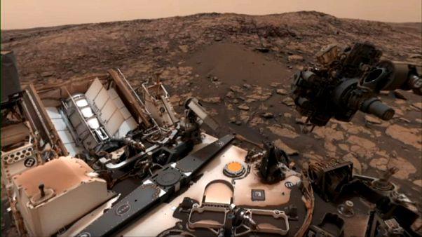 VİDEO - NASA'nın uzay aracı Curiosity, Mars'tan yeni görüntüler paylaştı