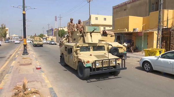 هدوء حذر وسط انتشار مكثف لعناصر الجيش بالبصرة